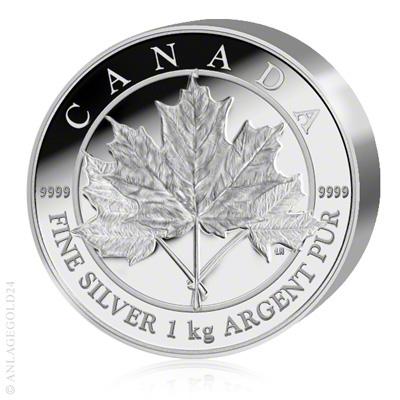1 kg silber maple leaf 2012 pp. Black Bedroom Furniture Sets. Home Design Ideas