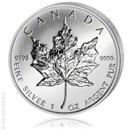 1 oz Maple Leaf 2012