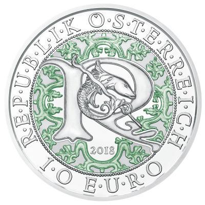 10 Euro Silber Michael Der Schutzengel österreich 2017 Pp