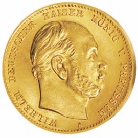 20 Mark Preussen Wilhelm I.
