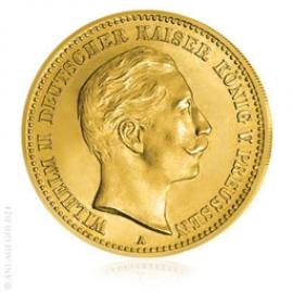 20 Mark Preussen Wilhelm II.