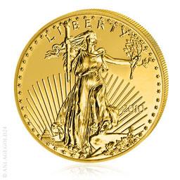 1 Oz Gold 50 Dollar Eagle Verschiedene Jahrgänge
