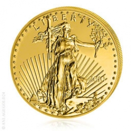 1 oz Gold, 50 Dollar Eagle verschiedene Jahrgänge