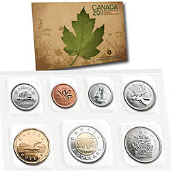 Anlagegold24 Kanada 3,91 Can$ Kurssatz 2011 ST