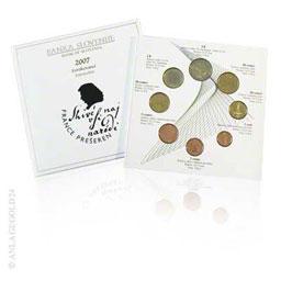 Kursm�nzensatz Euro 3,88 Slowenien 2007 ST