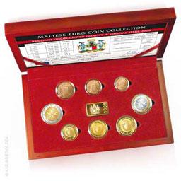 Kursm�nzensatz Euro 3,88 Malta 2008 ST