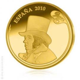 400 Gold Euro Spanische Maler - Goya - Spanien 2010 153510