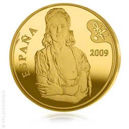 Anlagegold24 400 Gold Euro Spanische Maler - Dali Spanien 2009