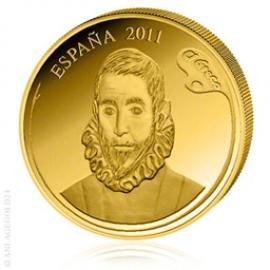 400 Gold Euro Spanische Maler - El Greco - Spanien 2011 153710