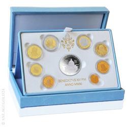 Anlagegold24 Vatikan EURO-Kurssatz 2012 PP