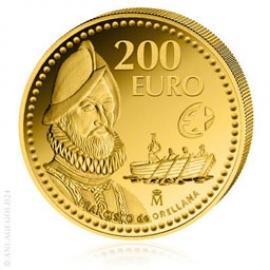 200 Gold Euro Spanische Entdecker - Orellana - Spanien 2011