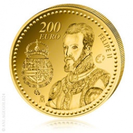200 Gold Euro Kronprinz Felipe II - Spanien 2009