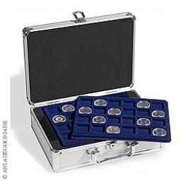 Münzkoffer CARGO S 6 inkl. 6 Münztableaus für Münzen bis 33 mm