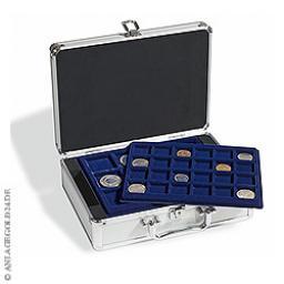 Münzkoffer CARGO S 6 inkl. 6 Münztableaus für Münzen bis 48 mm