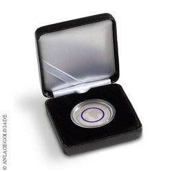Münzetui NOBILE für 1 dt. 5-Euro-Sammlermünze in Kapsel, schwarz