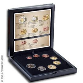 Anlagegold24 Österreich Euro-Münzensatz 2017 - Polierte Platte