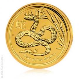 1 oz Gold, Jahr der Schlange 2013