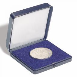 Münzetui blau, für 1 Münze bis 45 mm Oslash