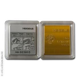 20 g Gramm Goldbarren Tafelbarren