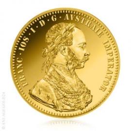 Anlagegold24 4 Dukaten Gold Österreich, Neuprägung