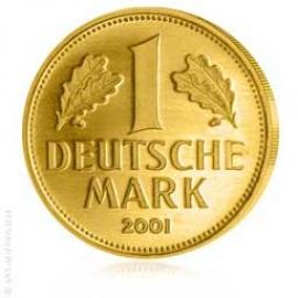 Deutsche Goldmark 2001 Prägebuchstabe A 209151