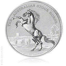 1 oz Silber Australisches Pferd - Stock Horse 2013