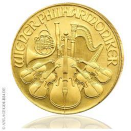 1 Oz Gold 2000 Schilling Wiener Philharmoniker Verschiedene Jahrgänge