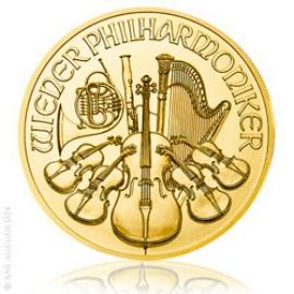 1 oz Gold Wiener Philharmoniker 2018