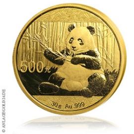 Anlagegold24 30g Gold Panda 2017