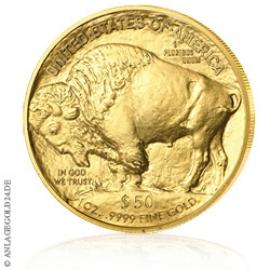 1 oz Gold, 50 Dollar Buffalo 2018 ST