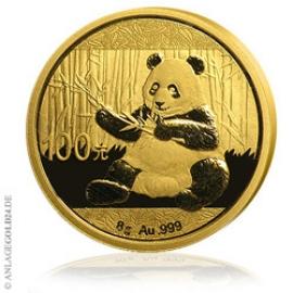 Anlagegold24 8g Gold Panda 2017