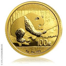 Anlagegold24 8g Gold Panda 2016