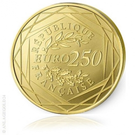 250 Euro Frankreich Hahn 2016