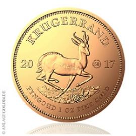 1 oz Gold Krügerrand 2017 - Sonderprägung zum 50-jährigen Jubiläum