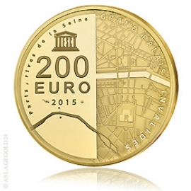 200 Euro UNESCO Banks of the Seine River 2015 - PP
