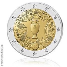 Anlagegold24 2 Euro UEFA Euro 2016