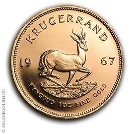 1 oz Gold Krügerrand 1967