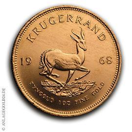 1 oz Gold Krügerrand 1968