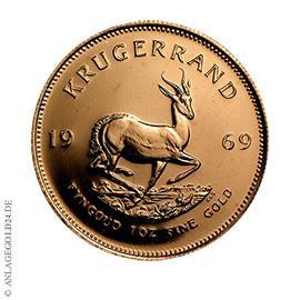 1 oz Gold Krügerrand 1969