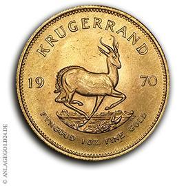 1 oz Gold Krügerrand 1970