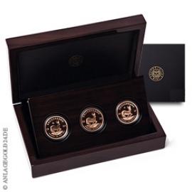 Vintage Krügerrand 3 Münzen im Set 258431