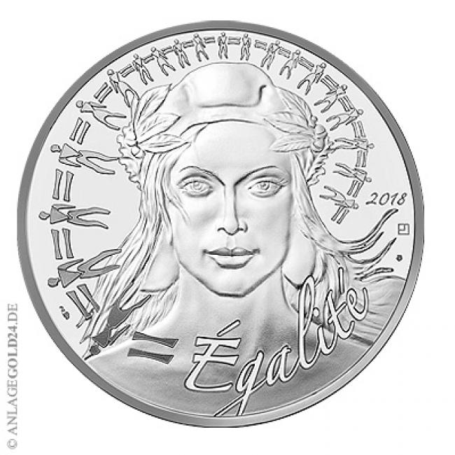 20 Euro Silber Frankreich Marianne 2018