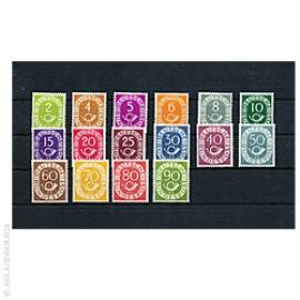 Posthorn Briefmarken-Satz 1951 postfrisch 264844