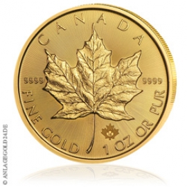 1 oz Gold, 50 Dollar Maple Leaf 2018