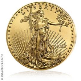 1 oz Gold, 50 Dollar Eagle 2018