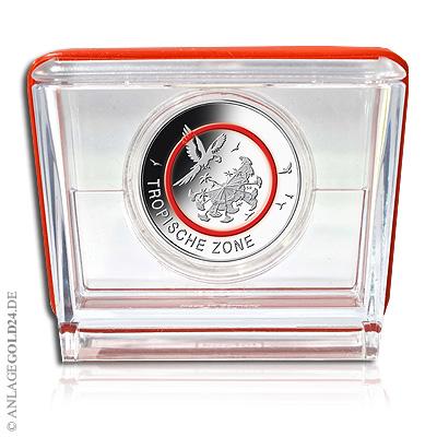 5 Euro Sammlermünze Tropische Zone Pp Komplettsatz Adfgj