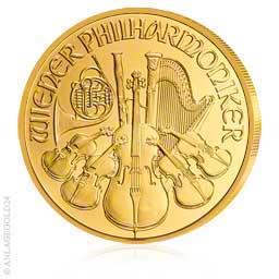1 Oz Gold 100 Euro Wiener Philharmoniker Versch Jahrgänge
