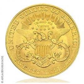 "20 Dollar USA Gold Liberty Head ""Double Eagle"" versch. Jahrgänge"