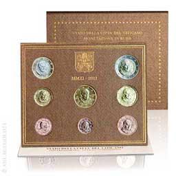 Anlagegold24 Vatikan EURO-Kurssatz 2011 ST